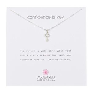🗝🆕 Dogeared ϟ Confidence Is Key ϟ Necklace